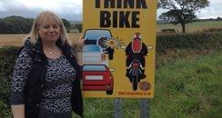 Sunderland widow Christine Hamilton backs road saf