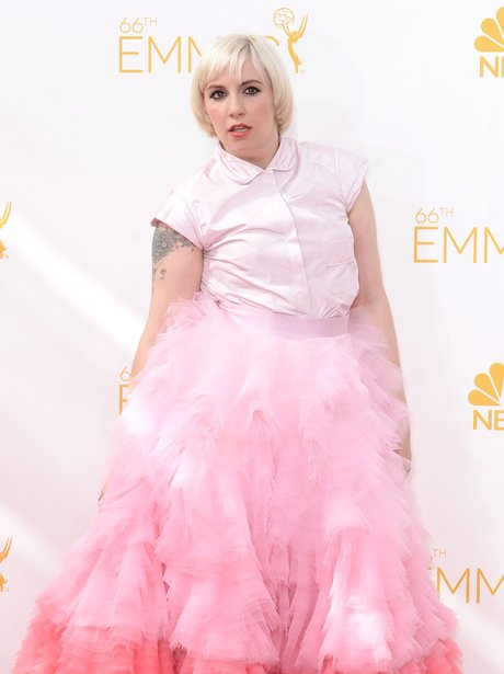 Lena Dunham Emmy Awards 2014