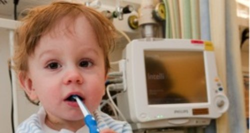 Jacob was born prematurely and spent a long time o