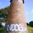 Graffiti on Newnham Windmill