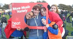 Heart FM at Southport Firework Display