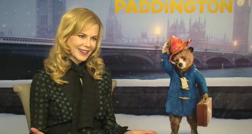 Nicole Kidman, Paddington, press junket