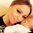 Kimberley and her kid