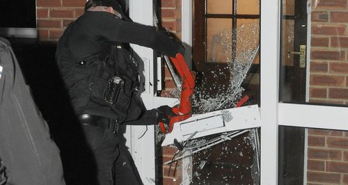 Hants drugs raid 2
