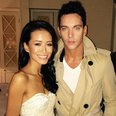 Jonathan Rhys Meyers and Maya King