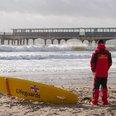 RNLI lifeguard Boscombe
