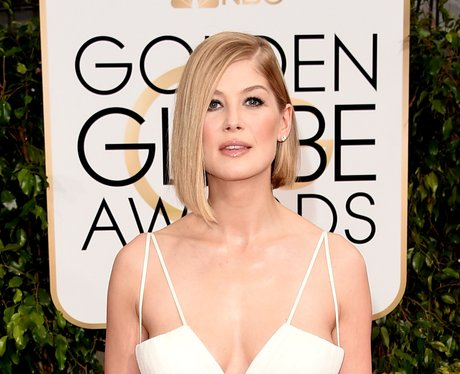 Golden Globes 2015 Rosamund Pike