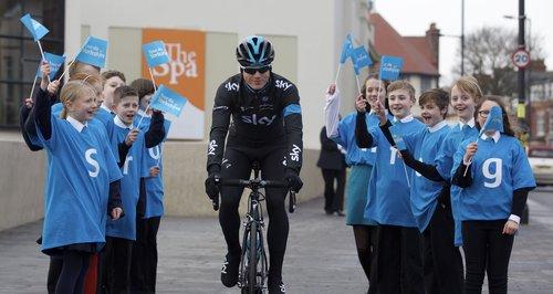 Tour De Yorkshire Launch Ben Swift