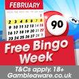 Free Bingo Week February