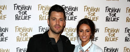 Mark Wright and Michelle Keegan at Fashion For Rel