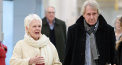 Dame Judi Dench with boyfriend David Mills