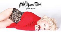 Madonna posing