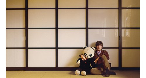 John Lennon with panda
