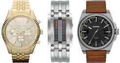 Men's watches canvas