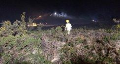 Canford Heath Poole fire arson