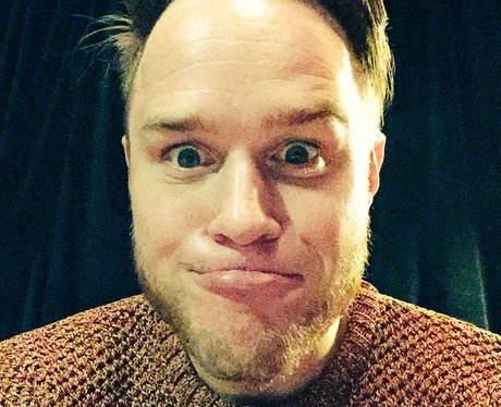 Olly Murs backstage at Dublin tour date