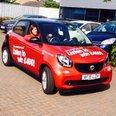 smart forfour car