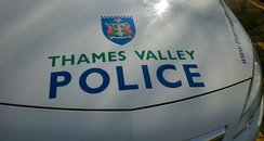 Thames Valley Police Car Bonnet