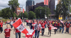 Middlesbrough FC at wembley