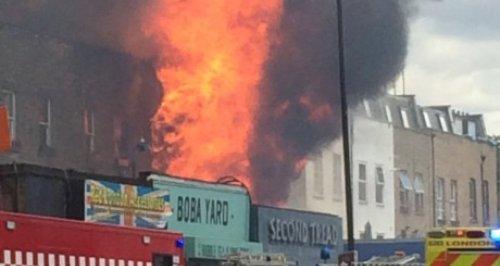 Hackney fire