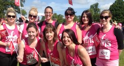 The Heart Angels spent Saturday morning supporting