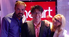 Jamie & Emma with Michael McIntyre