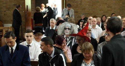Luton Halloween Funeral 6