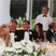 1. Mark Wright and Michelle Keegan share laughs during wedding speeches.