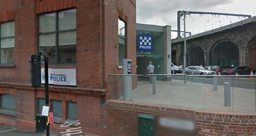 Newcastle Police station