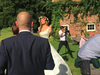 Jacqui Ainsley wedding day