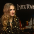 cara delevingne papertowns interview