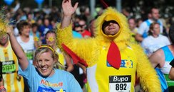 Great North Run chicken