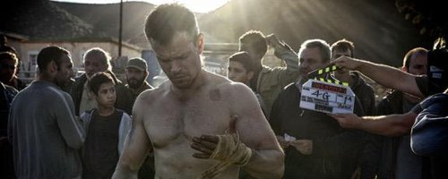 Matt Damon topless