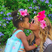 1. Beyonce showers her daughter Blue Ivy with kisses.