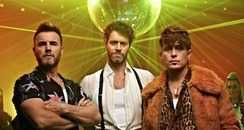 Take That  'Hey Boy' music video still