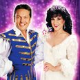 Brian Conley and Lesley Joseph