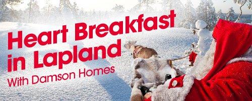 Heart Breakfast In Lapland