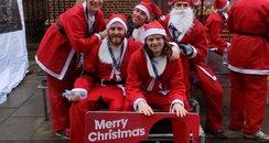 Rennie Grove Jingle Bell Jog 2015- After the Race