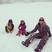 10. Mariah Carey makes snowballs with the twins in Aspen.