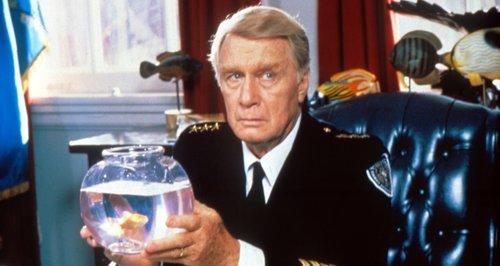George Gaynes in Police Academy