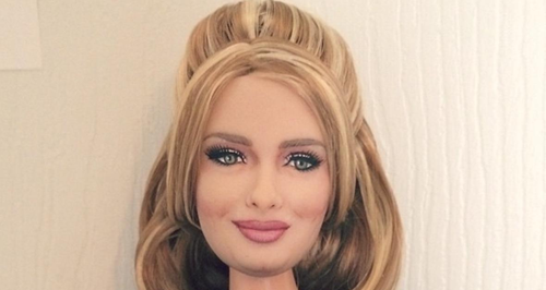 Adele has been turned into a barbie