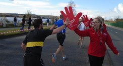 Heart Angels: Plymouth Half Marathon - Cheer Point