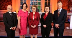 Scottish political leaders