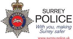 Surrey police badge