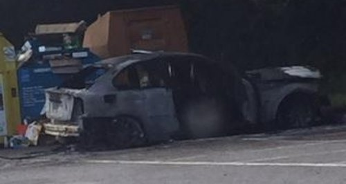 Locks Heath car arson