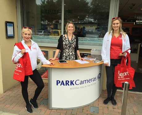 The Heart Angels At Park Cameras