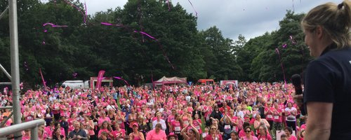 Heart Angels at Crawley Race For Life