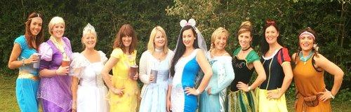 Disney Princess DisneyLand Paris Hen do Bride Brid