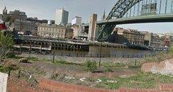 River Tyne Quayside Newcastle
