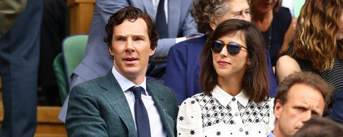 Benedict Cumberbatch wife Sophie Hunter Wimbledon